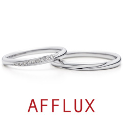 【AFFLUX(アフラックス)】Aya (アヤ)  ゆびわ言葉「しあわせ彩る」