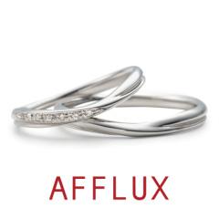 【AFFLUX(アフラックス)】Prairie (プレイリー) ゆびわ言葉「共に歩む」