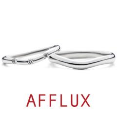 【AFFLUX(アフラックス)】TWOーWAY (トゥ・ウェイ) ゆびわ言葉「想いはひとつ」