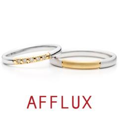 【AFFLUX(アフラックス)】Stella (ステラ) ゆびわ言葉「星に願いを」