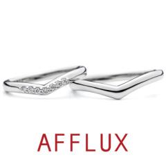 【AFFLUX(アフラックス)】Wing (ウィング) ゆびわ言葉「未来へはばたく」