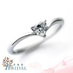 【宝寿堂(ほうじゅどう)】【宝寿堂】ハートの形のダイヤモンドがキュート《RD2290》