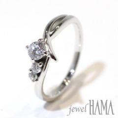 【Jewel HAMA(ジュエルはま)】【相談して作る婚約指輪】dev ote ディボート <捧げる>
