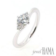 【Jewel HAMA(ジュエルはま)】【相談して作る婚約指輪】ade sso アデッソ <今>