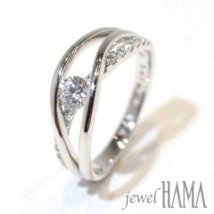 【Jewel HAMA(ジュエルはま)】【相談して作る婚約指輪】lien <絆>