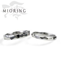 【MIORING(ミオリング)】MIORING 湧水 -いずみ- 飾らない槌目模様のゆらめき