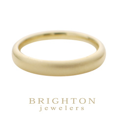 【BRIGHTON jewelers(ブライトンジュエラーズ)】Gold Wedding band