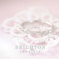 【BRIGHTON jewelers(ブライトンジュエラーズ)】PT marquise diamond ring[マーキスダイアモンドリング]