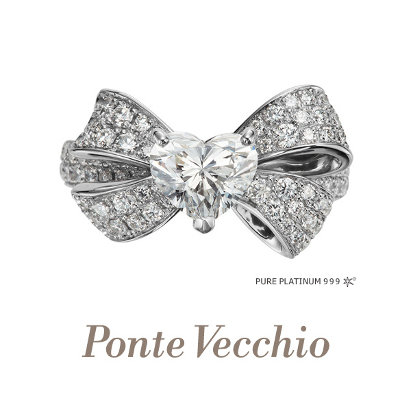 【Ponte Vecchio(ポンテヴェキオ)】【一部店舗限定】HAPPY HEART(ハッピーハート)
