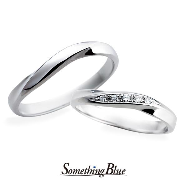 【Something Blue(サムシングブルー)】サムシングブルー マリッジリング [SP-816,SP-817]