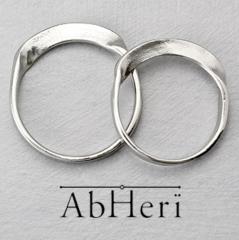 【AbHeri(アベリ)】アベリ マリッジリング  [メビウスの輪]