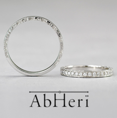 【AbHeri(アベリ)】アベリ マリッジリング  [adamant(強固な、屈しない)]