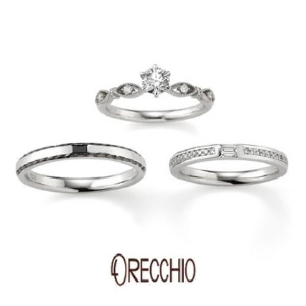 【garden(ガーデン)】パッショナート ~ティアラのようなアームのデザインでエレガントな婚約指輪