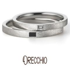 【garden(ガーデン)】アダージョ~マットな仕上げのオリジナルシルキー仕上げでクールな印象の結婚指輪