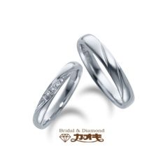 【カオキ ダイヤモンド専門卸直営店 】ずっとつけるものだから、しっかりと清楚に【スイレン】~清純な心~