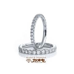 【カオキ ダイヤモンド専門卸直営店 】ダイヤの輝きが違う!人気のエタニティーリング【ルヴェ(上)・ルヴァン(下)】