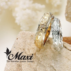 【Maxi(マキシ)】TWO-TONE 6x4mm/5x3mm