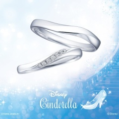 【Disney Cinderella(ディズニー シンデレラ)】Disney シンデレラ~Purely Magic~(ピュアリー・マジック)【結婚指輪】