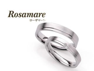 【Rosamare(ローザマーレ)】ホワイトゴールドマリッジ (036)