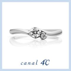 【canal4℃(カナルヨンドシー)】Rosette~「あなたを愛しています」思いを込めて贈る薔薇の花束~