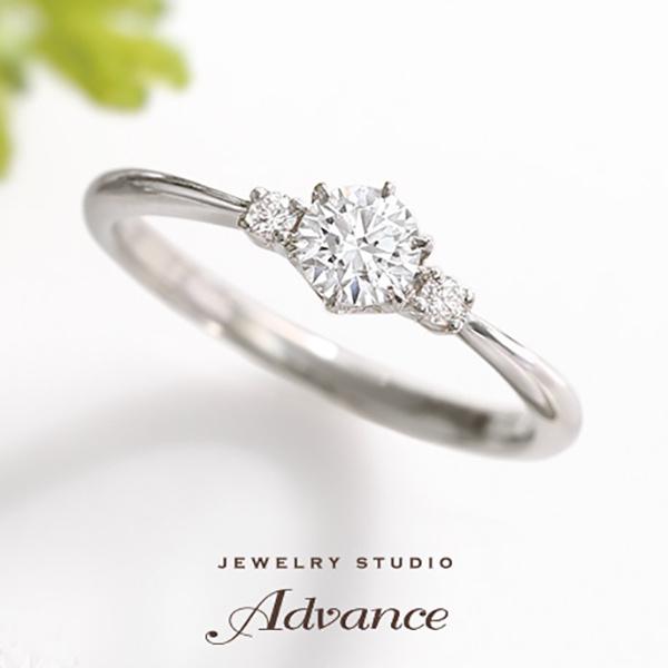 【JEWELRY STUDIO Advance(ジュエリースタジオアドバンス)】【Advance】Breeze(ブリーズ)『さりげなさが可愛いシンプルデザイン』