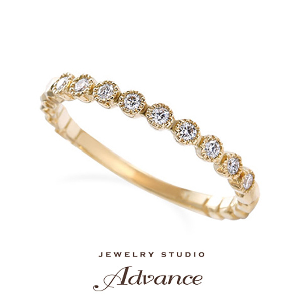 【JEWELRY STUDIO Advance(ジュエリースタジオアドバンス)】【Advance】Jasmine(ジャスミン)『アンティークで華やかなリング』