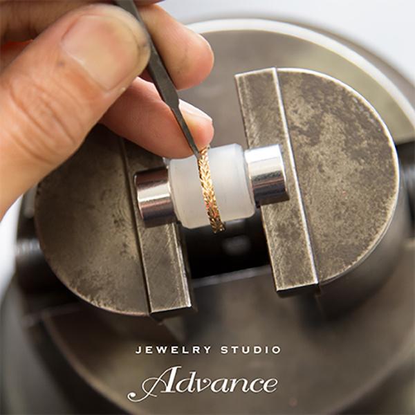 【JEWELRY STUDIO Advance(ジュエリースタジオアドバンス)】【Advance】Scroll (スクロール)『波』