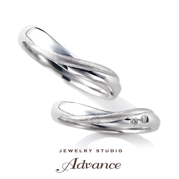【JEWELRY STUDIO Advance(ジュエリースタジオアドバンス)】【Advance】Mertorr(マートル)『男女問わず人気の優しいフォルム』