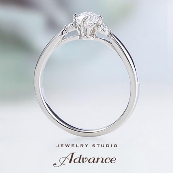 【JEWELRY STUDIO Advance(ジュエリースタジオアドバンス)】【Advance】Chouette(シュエット)『センターシャトンにこだわりを』