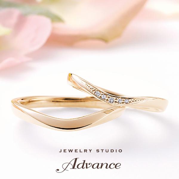 【JEWELRY STUDIO Advance(ジュエリースタジオアドバンス)】【Advance】Rochelle(ロシェル)『魅力を引き出すリング』