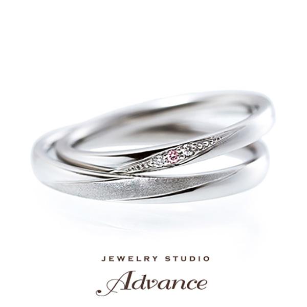【JEWELRY STUDIO Advance(ジュエリースタジオアドバンス)】【Advance】Angelica (アンゼリカ)『さりげなくダイヤモンドを…』