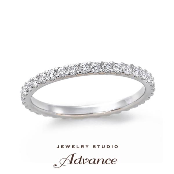 【JEWELRY STUDIO Advance(ジュエリースタジオアドバンス)】【Advance】 『フルエタニティリング』