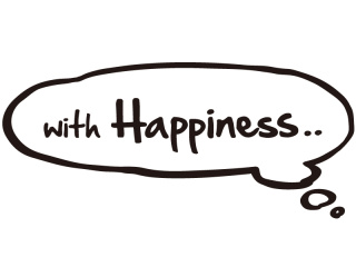 with Happiness..