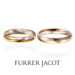【COEUR D'OR(クゥドール)金沢 by BIJOUPIKO】【世界が賞賛する鍛造ブランド】FURRER-JACOT ーコンビネーションー