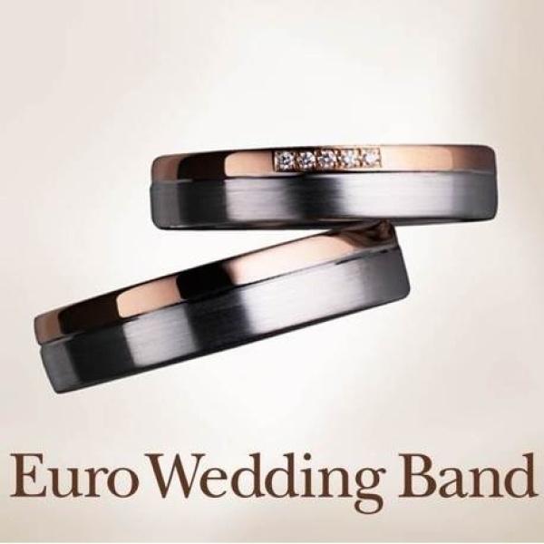 【yamatoya(ヤマトヤ)】ドイツ製鍛造リング Euro Wedding Band ユーロウエディングバンド