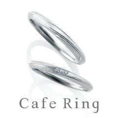 【BROOCH(ブローチ)】【テ・オ・レ】ミル打ちのラインとフォルムにこだわった結婚指輪