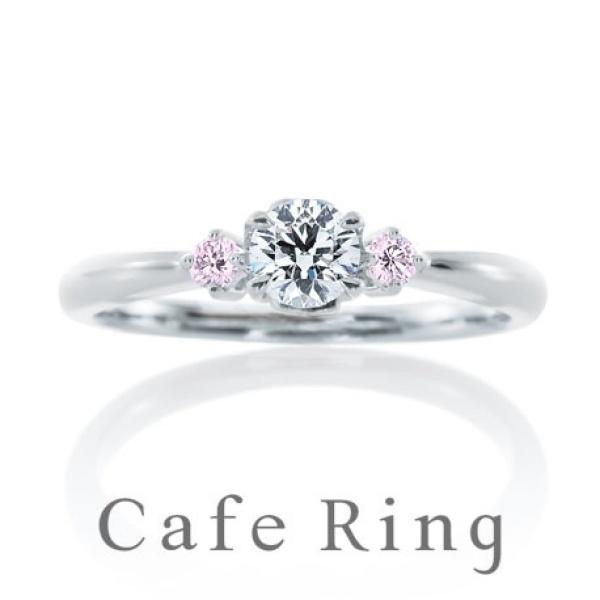 【BROOCH(ブローチ)】【 アンジェ】やさしく愛らしい婚約指輪