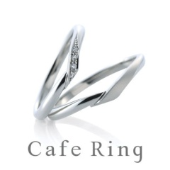 【BROOCH(ブローチ)】【シェリ】細身のVラインが薬指を美しくみせる結婚指輪