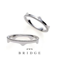 【BROOCH(ブローチ)】Crown&Tiara ティアラな橋