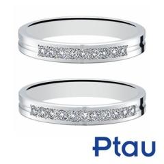 【HARADA BRIDAL(ハラダブライダル)】万年筆の技術から誕生した結婚指輪【Ptau】セミオーダーで選べる結婚指輪