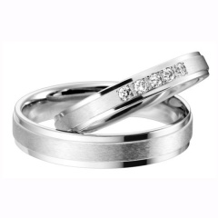 【HARADA BRIDAL(ハラダブライダル)】万年筆の技術から誕生した結婚指輪【Ptau】貴金属100%の新素材/ミストフラット