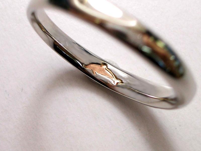 【ジュエリー東京】Pink Dolphin Diamond(ピンクドルフィンダイヤモンド) M's 1284616 / L's 1284615