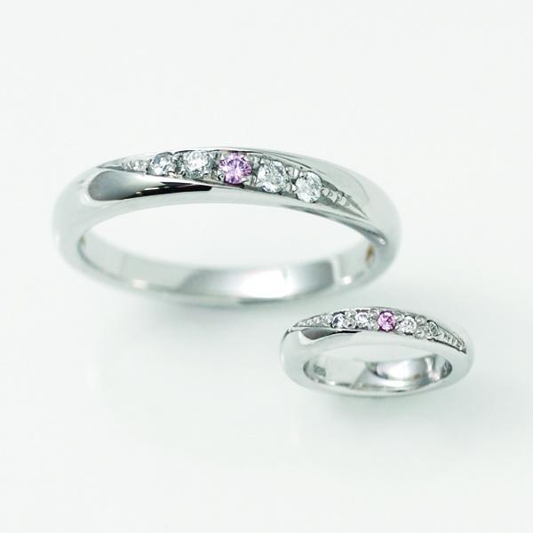【ジュエリー東京】Pink Dolphin Diamond(ピンクドルフィンダイヤモンド) M's1308801/L's1308800