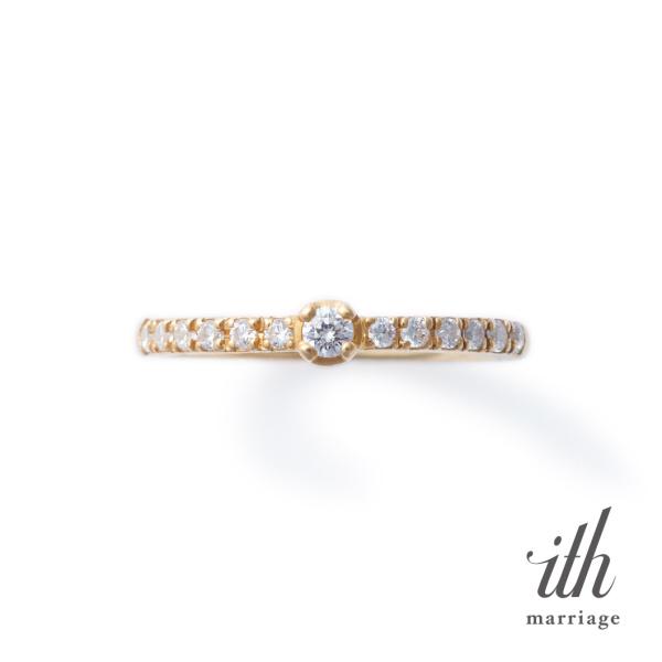 【ith(イズ)】【デイリースタイルの婚約指輪】ヴィオーラ / Viola
