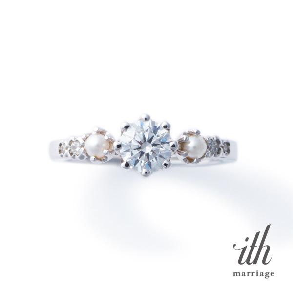 【ith(イズ)】【真珠がしっとり淑やかに】リース / Wreath