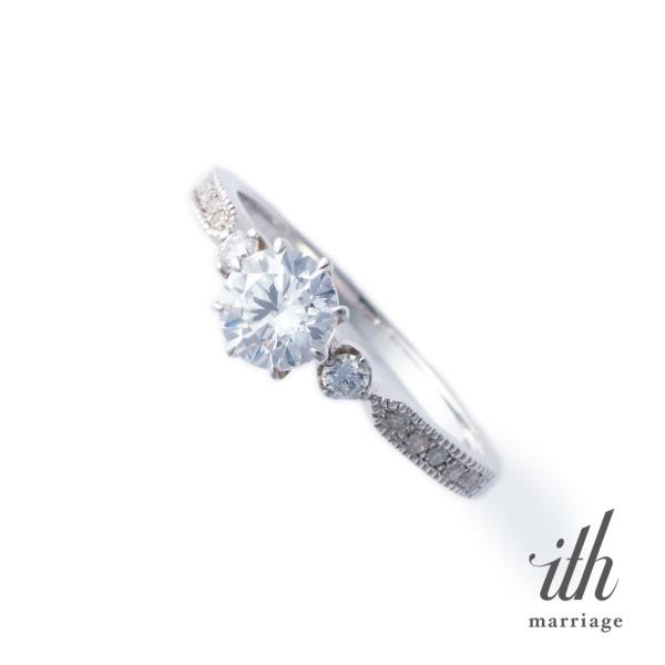 【ith(イズ)】【憧れをかたちにする婚約指輪】スピアー / Spear