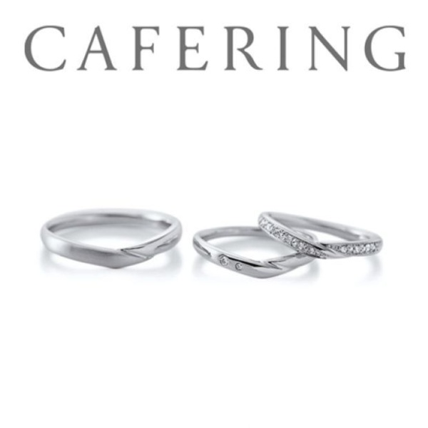 【GRACIS(グラシス)】【ヴァニーユ】緩やかなウェーブラインが手元を優しくみせてくれる結婚指輪