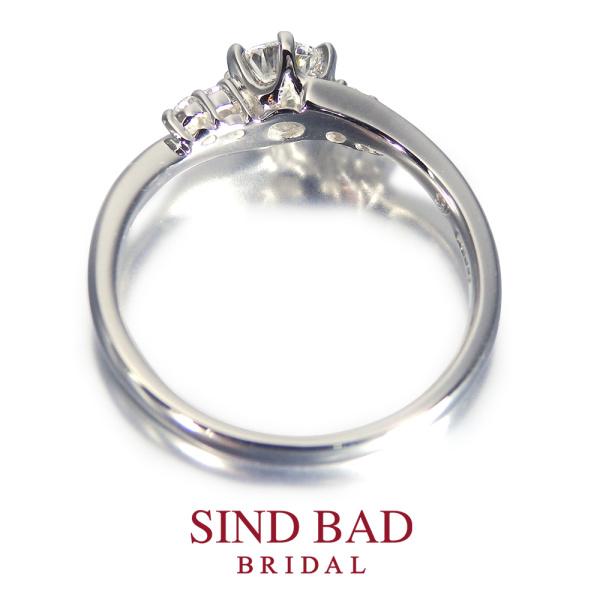 【SIND BAD(シンドバット)】婚約指輪【満星(みらい)】 二人の未来を満点の星たちが優しく照らし出す