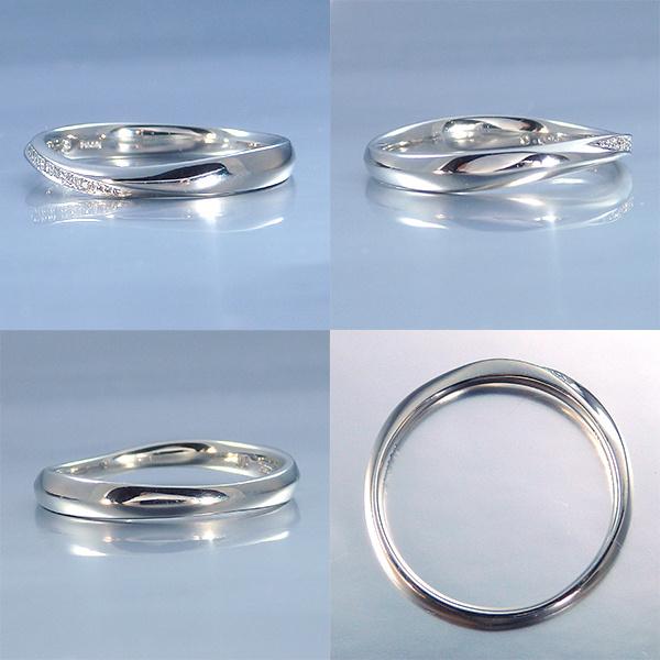 【SIND BAD(シンドバット)】結婚指輪【里結 りむ】両家の交わりをイメージ【2本11万6640円~】