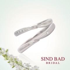 """【SIND BAD(シンドバット)】結婚指輪""""Hand to Hand"""" ペアで【¥122,040~】マリッジリング"""